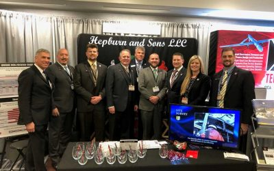 Hepburn and Sons LLC team at Surface Navy Association in Crystal City, VA January 14-16, 2020. Great show!