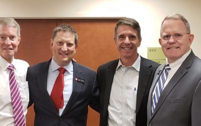 Hepburn and Sons LLC host reception for Congressman Wittman.